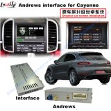 Automobile Android Navigation Interface Box per Porsche Macan, Panamera, Caienna Upgrade Touch, 1080P, WiFi, BT