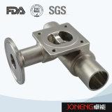 Нержавеющая сталь Трехсторонняя Food Grade мембранный клапан (JN-DV1019)