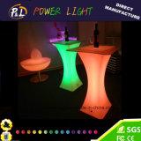 LED 연회 테이블을 바꾸는 당 사건 결혼식 장식 색깔