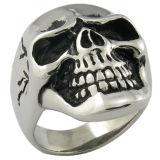 Juwelen van het Roestvrij staal van de Juwelen van de Ring van de zwabber de Zwarte Imitatie