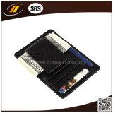 Kundenspezifische lederne Pass-Kartenhalter-Mann-lederner Pass-Deckel