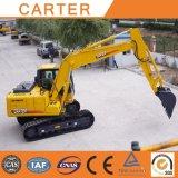 Máquina escavadora Diesel-Powered da esteira rolante resistente de CT150-8c (cubeta 15t&0.55m3)
