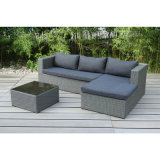 Simple Wooden Lounge Sofa Set Garden Patio Outdoor Furniture (FS-4115 + FS-4116 + FS-4117)