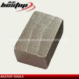 Het Segment van de diamant voor Graniet en het Harde Knipsel van de Steen