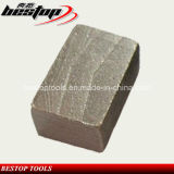 v Hard Granite Cutting Blade를 위한 Shape Diamond Segments