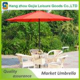 Parasole esterno forte &#160 antivento; Patio ombrello quadrato del giardino di 5X5m