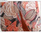 Form Sommer-druckte neue der europäischen und amerikanischen Frauen Fußleisten-Klage-langes Sleeveless Blusen-Stück befestigte Klage