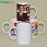Freesub Fabrik direkt 11oz Wholesale Sublimation-Becher