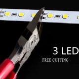 Luz de tira rígida do diodo emissor de luz do alumínio da luz DC12V 72LED SMD 5630 da barra