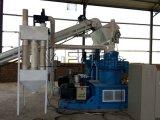 Nueva máquina de madera diseñada de la pelotilla de la biomasa