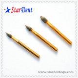 Fg7104 plateado titanio de oro Fg Carburo de Equipo Dental