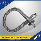 Het roestvrij staal plooide de Gevlechte Flexibele Slang van het Metaal