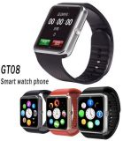 腕時計の電話Bluetoothのカメラ、SIMのカードが付いているスマートな腕時計のカメラの腕時計の腕時計