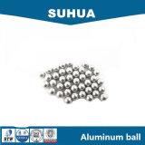 Bola del aluminio de la fabricación G100 3.175m m para el cojinete