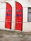 Bandiera su ordinazione portatile della bandierina di volo di pubblicità esterna