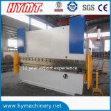 Machine à cintrer du plat Wc67y-160X4000 en acier, frein de presse hydraulique