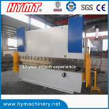 Wc67y-160X4000 강철 플레이트 구부리는 기계, 수압기 브레이크