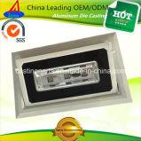 Disipador de calor del reflector de los accesorios de la cubierta del dispositivo del bastidor de aluminio LED