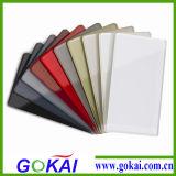 De grondstof PMMA 2200mm van 100% Gekleurde AcrylBladen