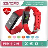 O bracelete esperto o mais novo da frequência cardíaca de Bluetooth do perseguidor da atividade de Zencro