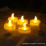 7 velas coloridas de la cinta de la batería de la llama LED Tealights del cambio