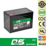 bateria profunda da descarga da bateria acidificada ao chumbo da bateria do Profundo-Ciclo 12V90AH