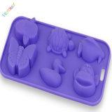FDAの標準食品等級のシリコーンの角氷の皿をカスタム設計しなさい