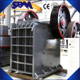 Pequeña trituradora de quijada del motor diesel de la venta caliente
