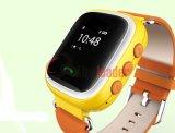Hightの品質GPSの子供の追跡者の腕時計の手首GPSの腕時計の電話(F-16)
