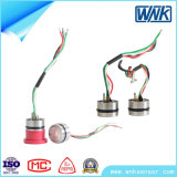sensor piezorresistivo de la presión del vapor del gas de aceite de Mems de la membrana 316L, salida 0-100V