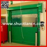 빠른 셔터 PVC 실내 자동적인 문 고속 회전 문 (ST-001)