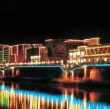 LED-Media-Fassade, die lineares Gefäß Ce/UL/RoHS (L-234-S48-RGB, beleuchtet)