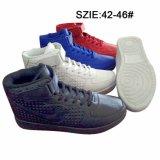 Впрыска Jean самых последних людей низкой цены обувает ботинки конька (MP16722)