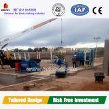 Projeto e construção automáticos novos da fábrica do tijolo da equipe profissional
