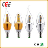 3-6W Ce RoHS LED Candle Bulb for Chandeliers