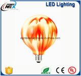 Noce S37 d'ampoule de cru en verre DEL 110V 40W de lampe d'Edison E26 ST64 rétro