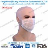 Nichtgewebte medizinische Wegwerfgesichtsmaske und Partikelrespirator für medizinischen Gebrauch Qk-FM010