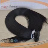 Black Color 100% Hot Selling Straight Style Prebonded I-Tip Hair Extension