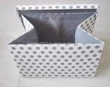 Rectángulo de almacenaje plegable con la cubierta