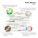 L'arte proietta le mattonelle dei kit del mosaico di vetro verde del ristorante del mosaico