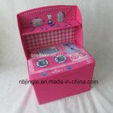 Cadre de mémoire de gosses avec le modèle de cuisine de poches de côté