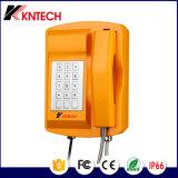 Sos van de Telefoon van VoIP van de Telefoon van de tunnel Telefoon knsp-18 LCD van de Noodsituatie Weerbestendige OpenluchtTelefoon IP66