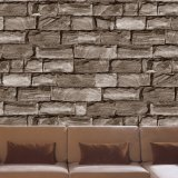 Papel de parede qualificado do projeto do tijolo da fonte da fábrica preço barato