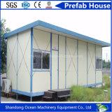Preços da habitação móveis modulares Prefab solares pré-fabricados contínuos baixo recentemente projetados da casa do baixo custo da casa