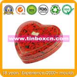음식, 사탕 깡통, 사탕 주석 상자를 위한 Heart-Shaped 사탕 주석