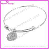 DIYのステンレス鋼のカスタム宝石類の女性の魅力の腕輪