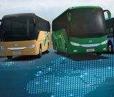 Ankai 23+1 Reeksen HK6669k van de Bus van de Ster van Zetels