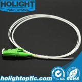 광섬유 떠꺼머리 E2000/APC 단일 모드 0.9mm