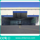 PVCファブリック格納庫のゲート