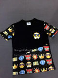 4人の種類の子供の漫画の印刷のTシャツ